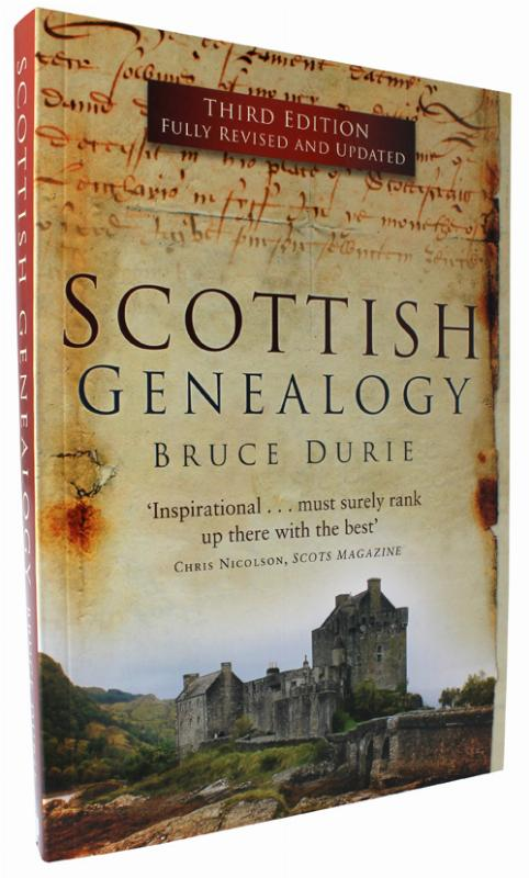 Scottish ancestors, family history book for Scotland