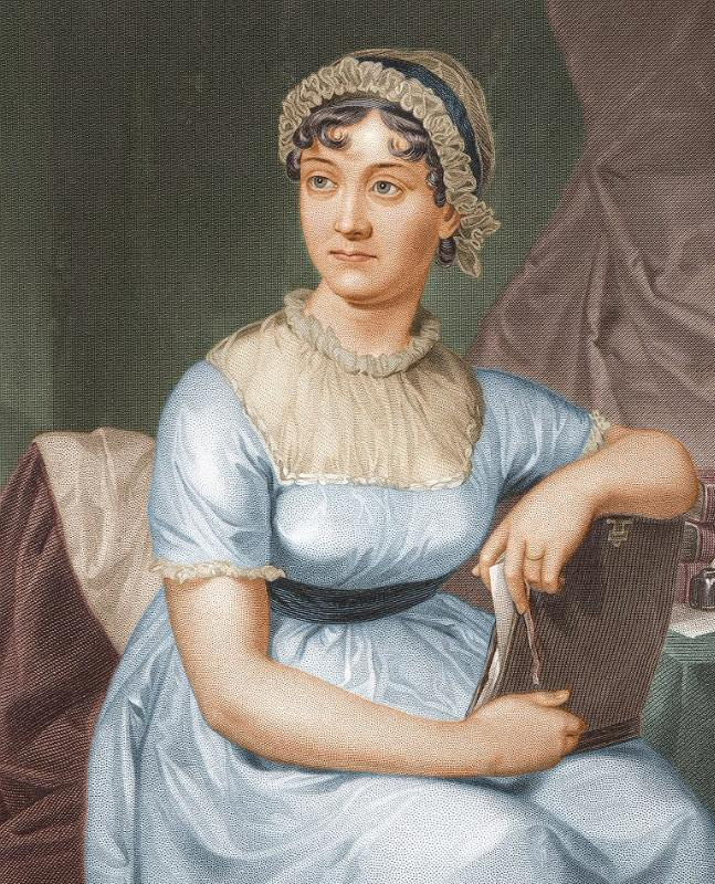 Jane Austen on £10 banknote