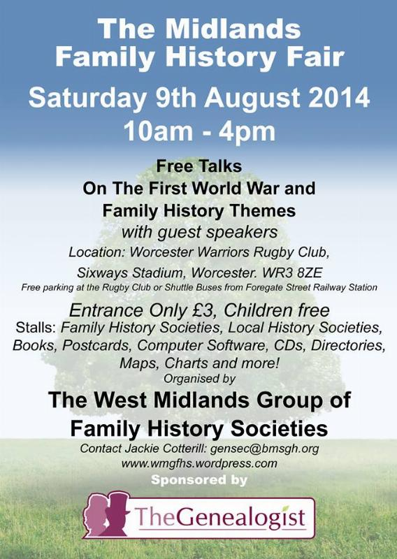 Midlands Family History Fair