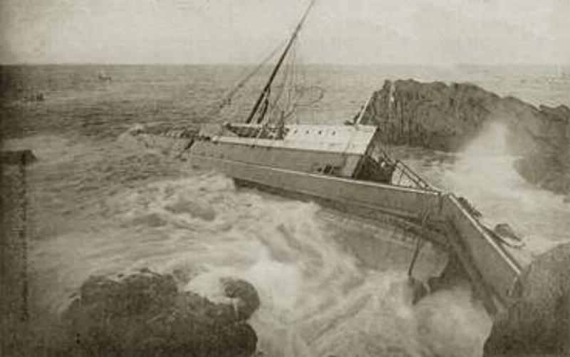 SS Hilda sinks off Saint Malo this day in 1905