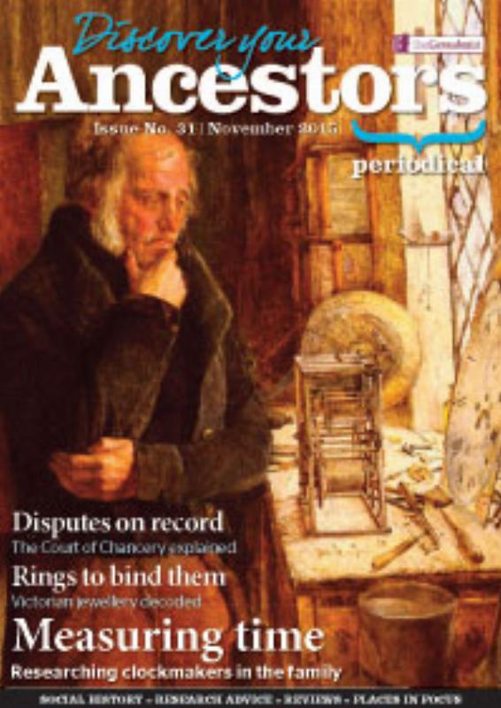 Discover Your Ancestors Periodical November 2015