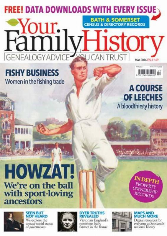 Your Family History May 2016