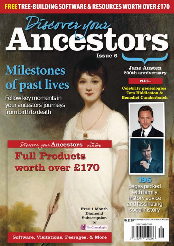 Discover Your Ancestors bookazine Issue 6