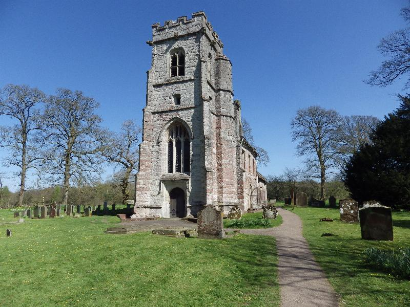 Baddesley Clinton church. Photo: © 2015 Nick Thorne of https://www.familyhistoryresearcher.com